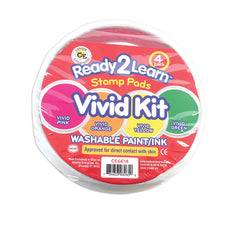 Ready2Learn™ Washable Stamp Pads, Vivid Kit