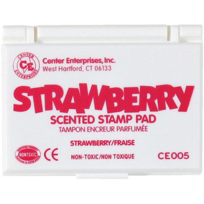 Strawberry Scented Stamp Pad, Hot Pink