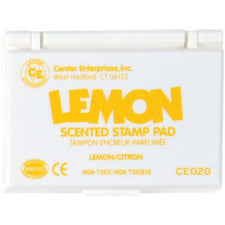 Lemon Scented Stamp Pad, Yellow