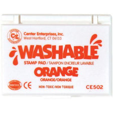Washable Stamp Pad - Orange