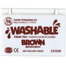 Washable Stamp Pad - Brown
