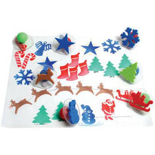 Ready2Learn™  Giant Christmas Stamps (10)