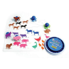 Ready2Learn™  Giant Farm Animals Stamps (10)