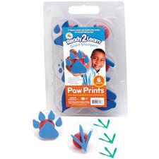 Ready2Learn™  Giant Animal Paw Print Set (6)