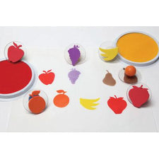 Ready2Learn™  Giant Fruit Stamps (6)