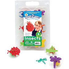 Ready2Learn™  Giant Insects Stamps (6)