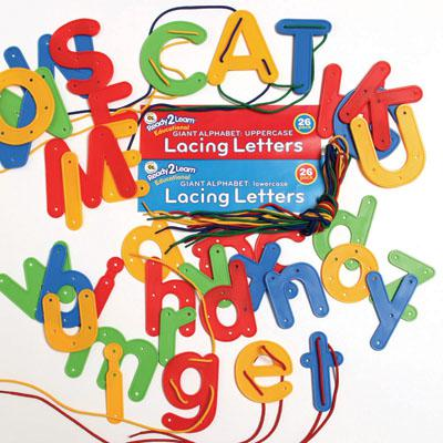 Ready2Learn™ Uppercase & Lowercase Lacing Alphabets