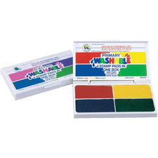 Washable Primary 4-In-1 Stamp Pad