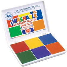Washable 6-In-1 Stamp Pad