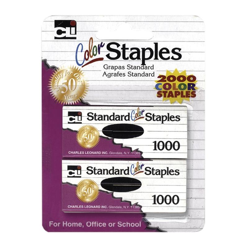Standard Staples, Assorted Colors