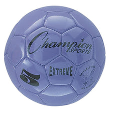 Extreme Soccer Ball, Size 5 Purple