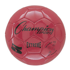 Extreme Soccer Ball, Size 5 Red