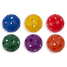 "Plastic 9"" Baseballs, Set of 6"