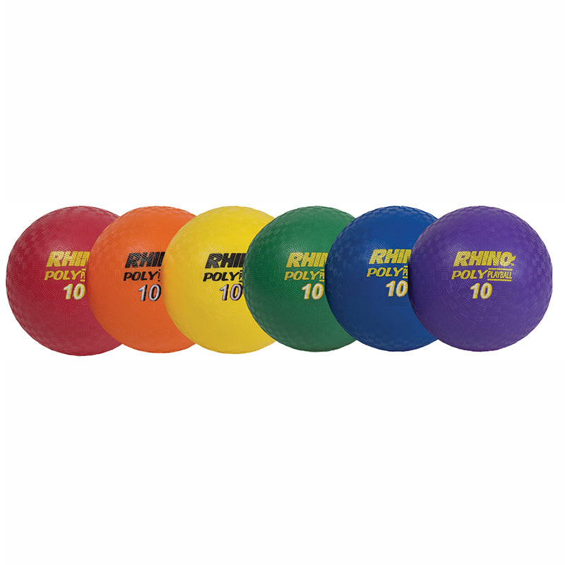"10"" Poly Playground Ball Set"