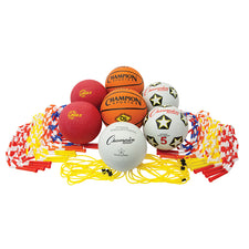 Assorted Playground Ball & Jump Rope Set