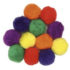 Pom Pons, Multi-Color 70mm