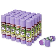 Glue Sticks, Purple .28 Oz