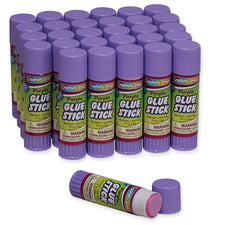 Glue Sticks, Purple .70 Oz Large
