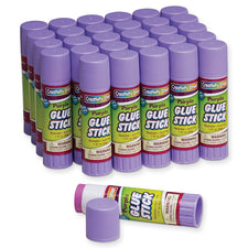 Glue Sticks, Purple 1.41 Oz Jumbo