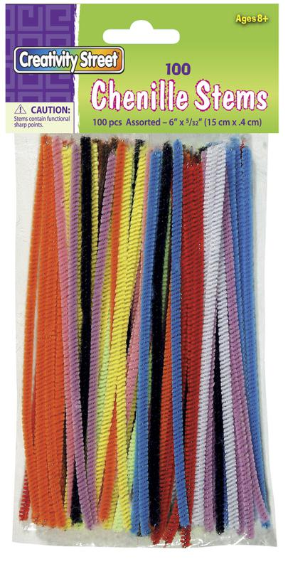 Regular Stems - Assorted Colors 6""