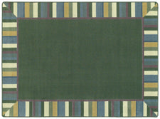 "Clean Green© Classroom Rug, 7'8"" x 10'9""  Oval Soft"