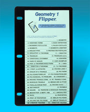 Geometry 1 Flip Up Study Guide