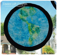 Coffee Filter 'Stained Glass' Craft for Earth Day
