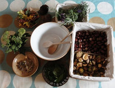 Fall Sensory Play - Cooking + Nature