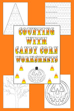 "4 FREE Printable ""Counting With Candy Corn"" Worksheets!"