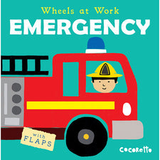 Wheels at Work: Emergency, Board Book
