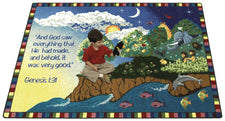 "Creation© Sunday School Rug, 5'4"" x 7'8"" Rectangle"