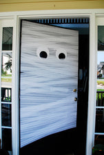 Get Wrapped Up in Halloween Fun! - Mummy Halloween Door Display