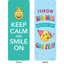 Emoji Fun Motivational Quotes Bookmarks