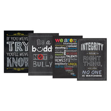 Creative Teaching Press Chalk It Up! Inspire U… Poster Pack 3