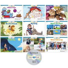 Learn to Read: Variety Pack 1 with CD, Level A–B
