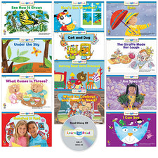 Learn to Read: Variety Pack 4 with CD, Level C