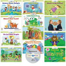Learn to Read: Variety Pack 6 with CD, Level D