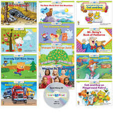 Learn to Read: Variety Pack 7 with CD, Level D