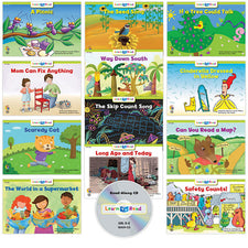 Learn to Read: Variety Pack 9 with CD, Level D–E