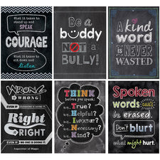 Inspire U Poster Pack: No Bullying Allowed, Set of 6