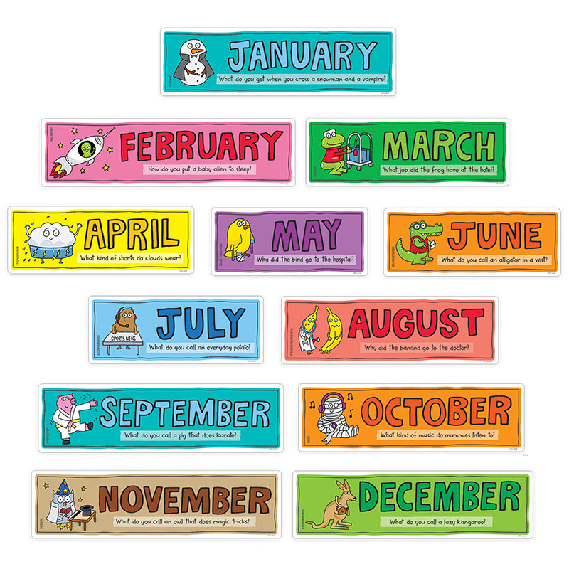 So Much Pun! Months of the Year