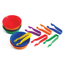 Sorting Bowls and Tweezer Set
