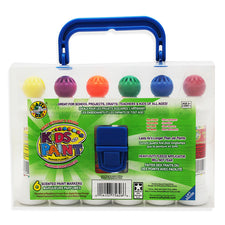 Crafty Dab Paint 6 Pk With Carrying Case