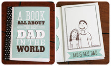 Father's Day Round-up - Printable All-About-Dad Book!