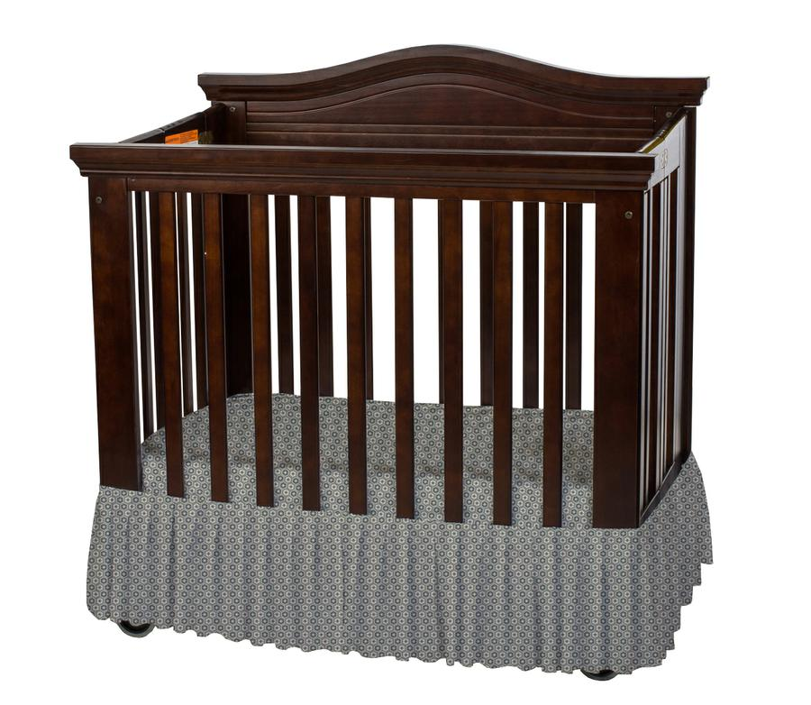 Bare is Best™ Dust Ruffle for Foundation's Compact Cribs, Sahara (3 Pack)