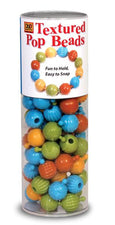 Textured Pop Beads, 100 Count Tube