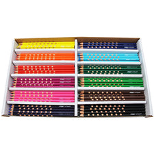 Prang Groove Colored Pencils, 144 Count