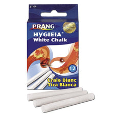 Prang Hygieia White Dustless Chalkboard Chalk