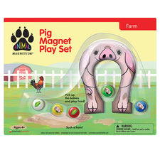 Animal Magnetism: Pig Magnet Play Set