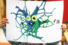 Drippy Monsters - Art Project for Kids